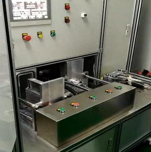 动力锂电池真空箱氦检漏系统